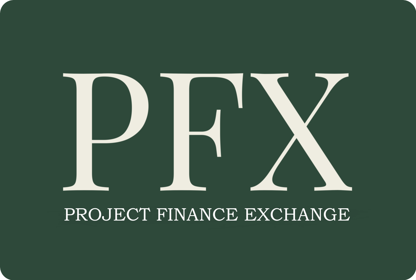 Project Finance Exchange Logo